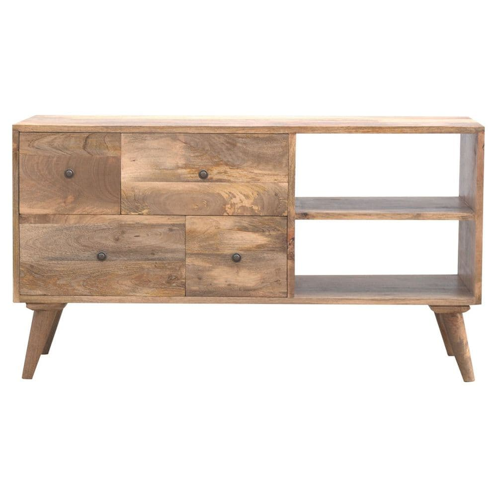 Nordic Style Multi Drawer Media Unit
